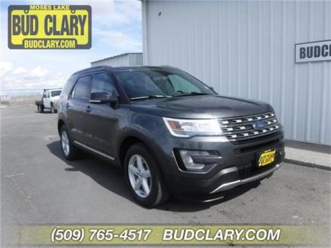 Pre-Owned 2017 Ford Explorer XLT 4dr 4x4