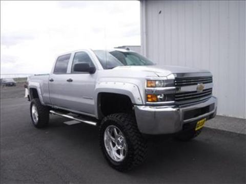 2015 Chevrolet Silverado 2500HD LT 4x4 Crew Cab 6.6 ft. box 153.7 in. WB