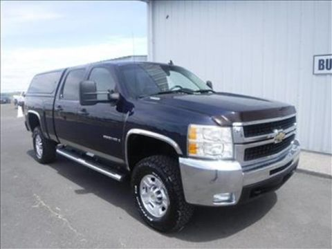 2009 Chevrolet Silverado 2500HD LT 4x4 Crew Cab 8 ft. box 167 in. WB