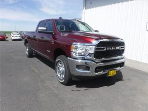 New 2020 RAM 3500 Tradesman 4x4 Crew Cab 169.5 in. WB