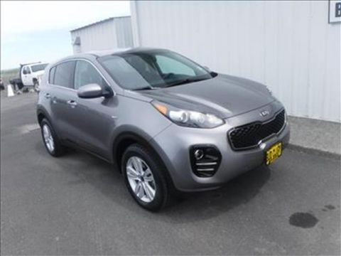 Pre-Owned 2017 KIA Sportage LX 4dr All-wheel Drive