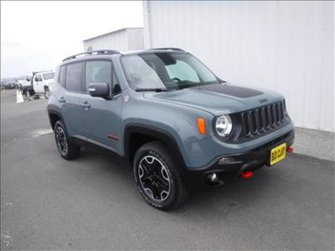 Pre-Owned 2016 Jeep Renegade Trailhawk 4dr 4x4